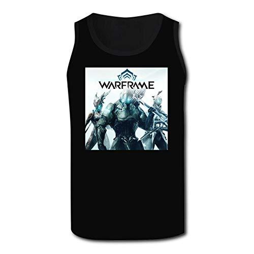 - breath of fresh Warframe 3D Print Mens Tank Top Soft Lightweight Tees Body Shaper Vest Black