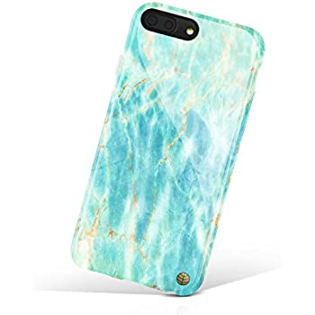 iPhone 8 Plus / 7 Plus case for girls, Akna Get-It-Now Collection Flexible Silicon Case for both iPhone 8 Plus & 7 Plus [Ocean Blue Marble](509-U.S)