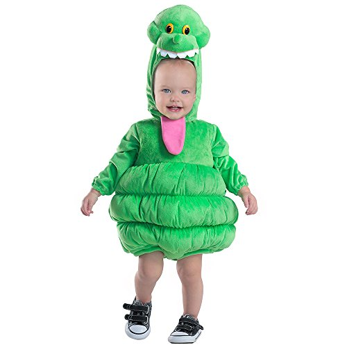 (Princess Paradise Baby Boys' Ghostbusters Slimer Deluxe Costume, As Shown, 6 to 12)