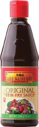 Lee Kum Kee Original Stir-Fry Sauce, 19 Ounce (Pack of 12)