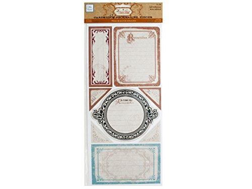 (bulk buys Cardstock Journaling Stickers - Set of 24)