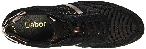 Gabor Shoes Sport 54.323 - Zapatillas para mujer Multicolor (bronce/schw./rame 44)