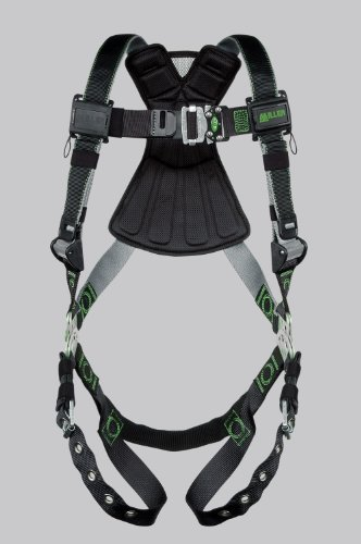 Miller by Honeywell RDT-TB/UBK Revolution Harness with DualTech Webbing and Tongue Buckle Legs, Universal, -