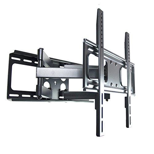 Curved TV Wandhalterung 111N, vollbeweglich mit doppelarm, schwenkbar neigbar, Plasma LCD LED Wandhalter für Fernseher mit 81 - 140cm (32 - 55