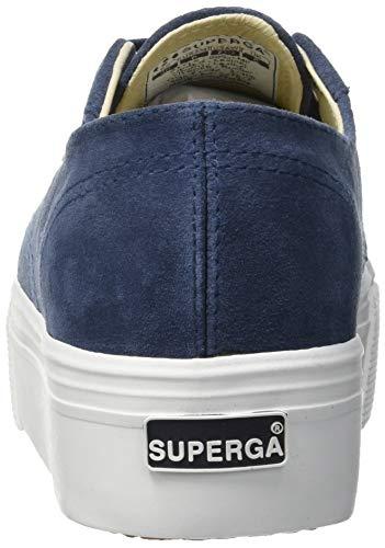 Nero suew Blue Superga Sneaker J41 Donna 2790 Night Shadow Cw5qpIgx