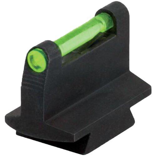 HIVIZ 3/8-Inch Dovetail Fiber Optic Rifle/Muzzleloader Sight 0.42 Height ()