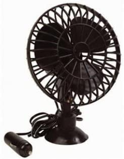 Allrid - Ventilador giratorio para coche (12 V, conexión a la toma de mechero): Amazon.es: Electrónica