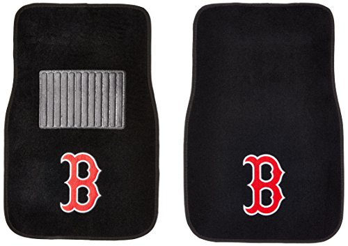 Boston Red Sox Car Accessories - FANMATS MLB Boston Red Embroidered Car Mat