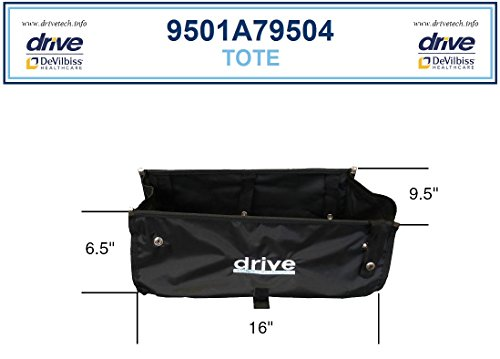Underseat Basket Storage - Drive 795 Tote Bag (under seat) Serial #s 1A & 2Y