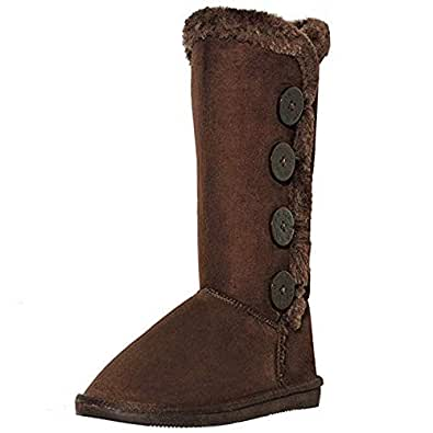 Amazon.com   AMYshoes shoewhatever Women's Fur Lined