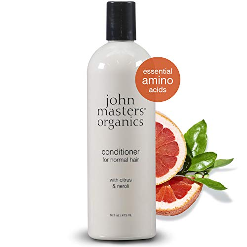 John Masters Organics - Conditioner for Normal Hair with Citrus & Neroli - Infused with Essential Oils - Nourish, Add Shine, & Volume to Hair - 16 oz