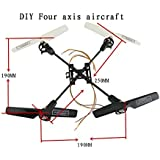 Sea jump new DIY four-axis helicopter 3.7V 8520 hollow cup motor wear carbon fiber rack global hot four-axis flight device