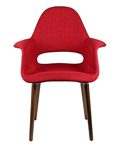 Price Tracking For Tribeca Organic Arm Chair Red 2