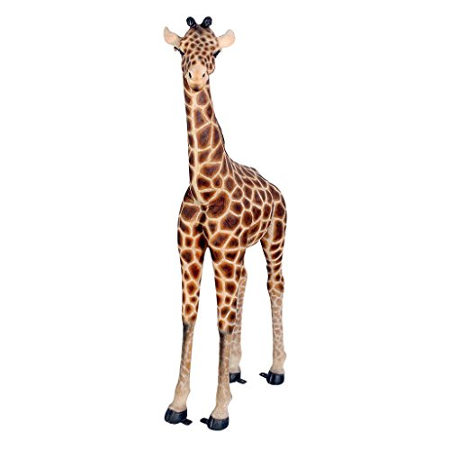 Baako Grand Scale Baby Giraffe Garden Statue