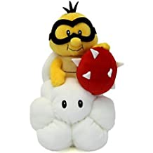 Little Buddy Toys Nintendo Official Super Mario Lakitu with Spiny Plush, 9-Inch