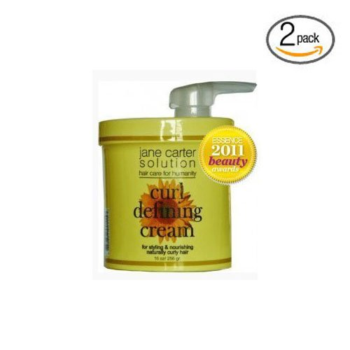 JANE CARTER CURL DEFINING CREAM 16oz Pack of 2 Jane Cosmetics