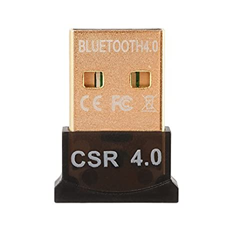 Bluetooth 4.0 USB Dongle Adaptador CSR 4.0 Receptor inalámbrico Bluetooth para PC Windows 10/8/7 / XP / Vista AC827: Amazon.es: Electrónica