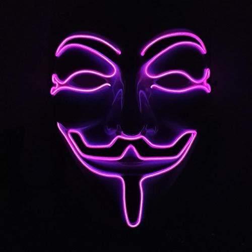 Gatton LED Anonymous Glowing MASK -