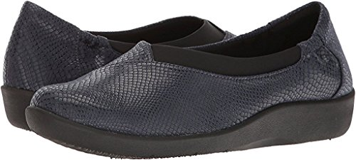 CLARKS Womens Sillian Jetay Closed Toe Loafers, Blue, Size 7.0 by CLARKS (Image #1)