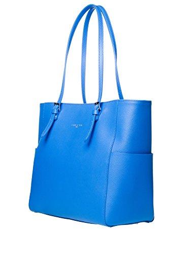 Lancaster , Sac pour femme à porter à l'épaule bleu