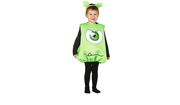 Disfraz Monstruito Baby verde: Amazon.es: Juguetes y juegos