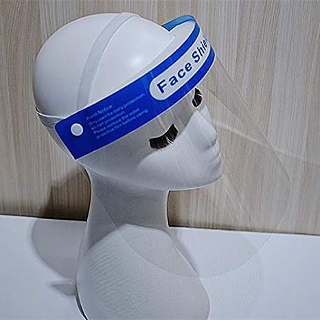 Transparente Anti-Vaho Protección Mascarilla contra Salpicaduras De Aceite para Trabajos De Cocina Saliva A Prueba De Polvo Aislamiento De Las Vías Respiratorias Máscara Protectora Anti-Virus A