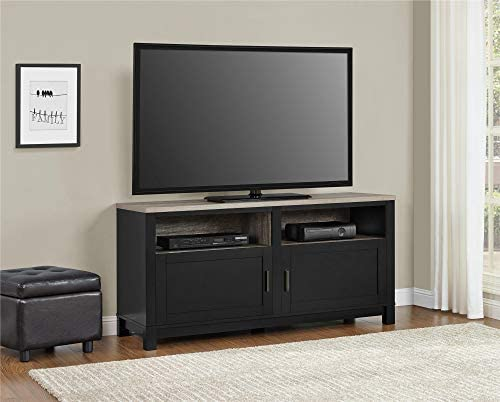 Ameriwood Home Carver TV Stand for TVs up to 60 Wide, Black