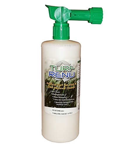 Turf Renu Tr10132 Bio Enzymatic Cleaning Solution For Synthetic Artificial Turf And Pet Odor Control With Sprayer  32 Ounce