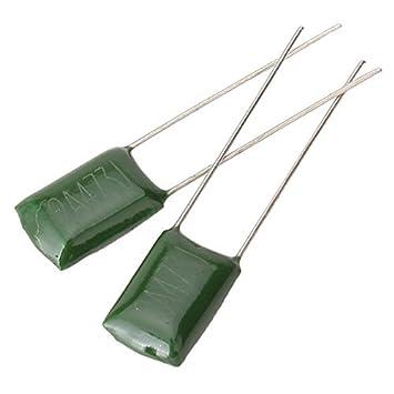 Condensadores de surf 50pcs Verde guitarra eléctrica o amplificador 0.047u/2 a473j: Amazon.es: Instrumentos musicales