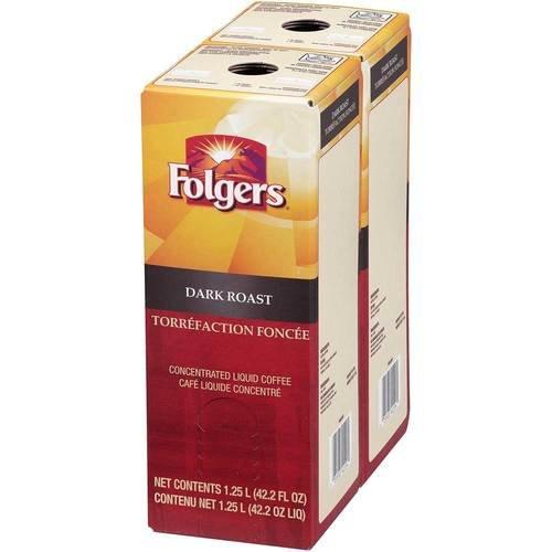 Folgers Dark Roast Coffee Liquid, 1.25 Liter -- 2 per case. by Folgers