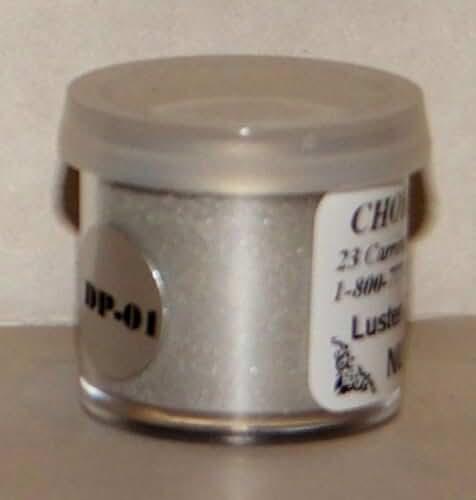Nu Silver Dust (Coin Silver) 2 grams Cake Decorating Dust- Gum Paste Deco DP01