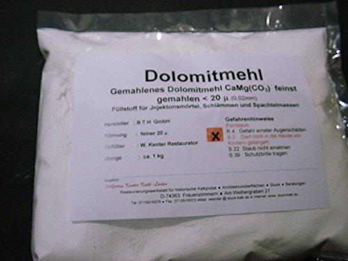 Calcinar de harina, grano<20my, 1 kg en la bolsa: Amazon.es ...