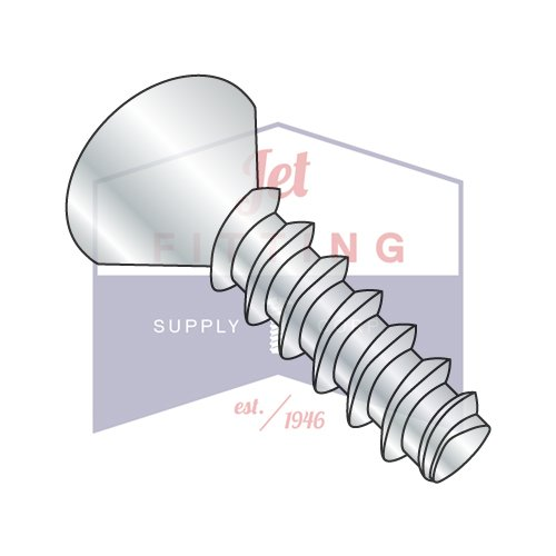 12-11X3/4 Plastite Style Thread Forming Screws | Phillips | Flat Head | Steel | Zinc (QUANTITY: 5000) by Jet Fitting & Supply Corp
