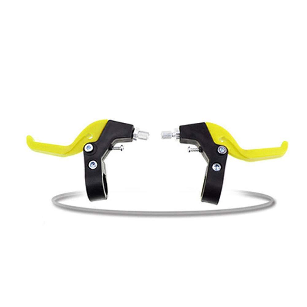 SZYZ Brake Handle 1 Pair Universal RFID ocking Children Bicycle Cycling Parts Kids Brake Levers Black