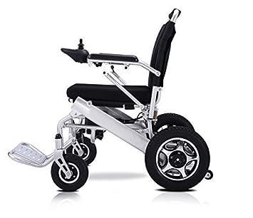 AOLI Silla de ruedas eléctrica Plegable Ligero 50 libras con ...