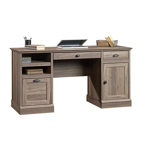 Itt Desk - Sauder 418299 Barrister Lane Executive Desk, L: 59.06