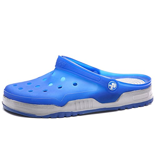 New Summer Beachoutdoor Fashion Water Shoes Men Casual Flip Flop Breathable Royal blue 8.5 by BEACHR
