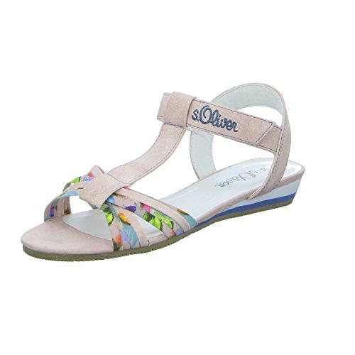 s.Oliver5-5-78215-28-547 5 - Zapatos con tacón Mujer Rosa