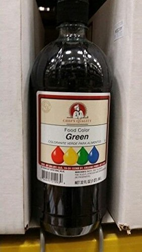 Chef's Quality Green Food Color 32 Oz (2 Pack)
