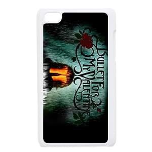 Bullet For My Valentine funda iPod Touch 4 caja funda del teléfono celular blanco cubierta de la caja funda EEECBCAAJ01298
