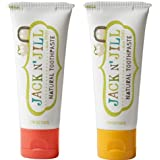 Jack N' Jill Natural Toothpaste, Strawberry & Banana, 1.76oz (Pack of 2)