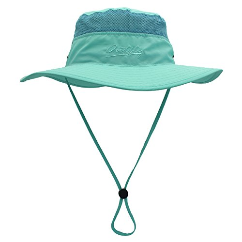 b69ac1d02 Outfly Wide Brim Sun Hat Mesh Bucket Hat Lightweight Bonnie Hat Perfect for  Outdoor Activities, Various colors