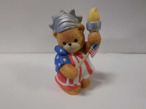 Lucy & Me Series (Enesco) **Bear Dressed as Statue of Liberty** 136530