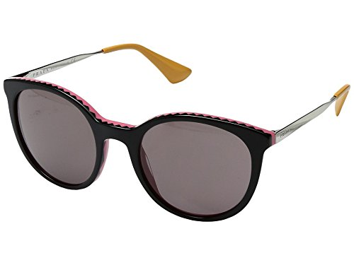 Prada Women's 0PR 17SS Black/Pink/Purple Brown - Pink Sunglasses Prada