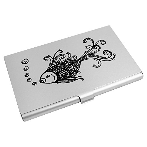 Card Azeeda Holder Card Business CH00002929 Azeeda Card Holder Card Wallet 'Fish' Credit Business Credit 'Fish' Wallet wx0nXaHfSq