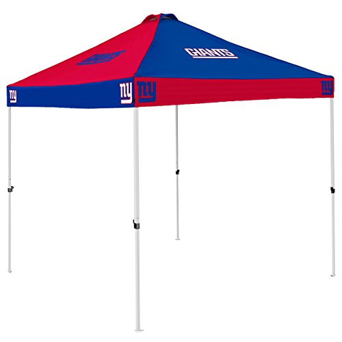 NFL New York Giants Checkerboard Tent Checkerboard Tent, Navy, One Size by Logo Brands