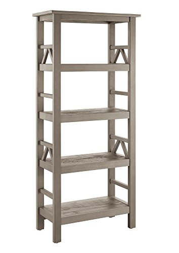 Linon Titian Driftwood Bookcase Review