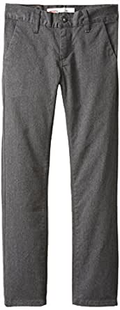 Levi's Big Boys' 510 Fit Trouser, Graphite Heather, 18 Regular