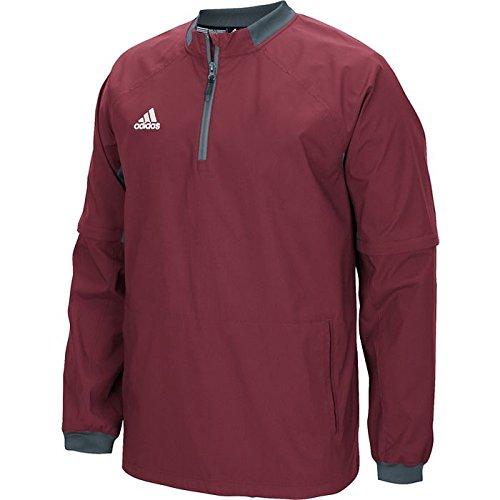 adidas Mens Fielder's Choice Convertible Jacket Coll Bur/Onix real cheap price iwcZb
