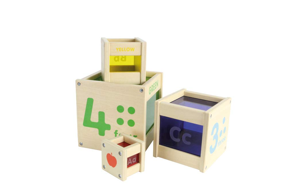 Masterkidz Colour Discovery Stacking Cubes